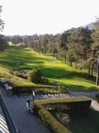 Lombardie, Italie : putting green