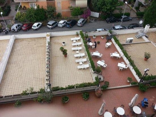 Hotel Pineta Palace : vista dal balcone