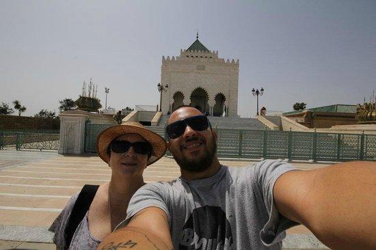 Mausolée de Mohammed V : Mausoleu Mohamed V Marrocos