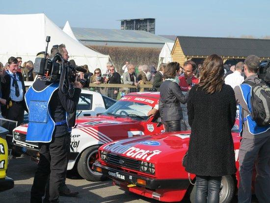 Goodwood Motor Circuit: Kendte personer!