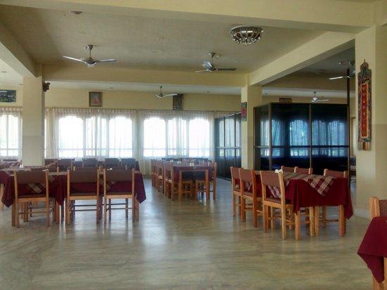 Hotel Pema Karpo: Dining area