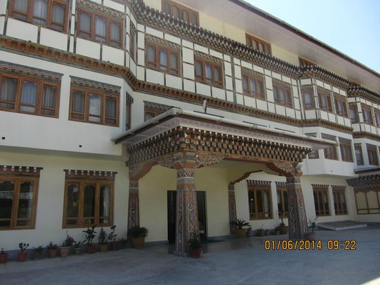Hotel Pema Karpo: hotel Entry
