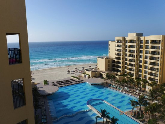 The Royal Sands: A view from our balcony