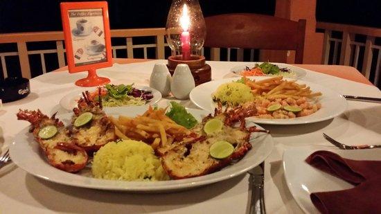 AIDA Seafood Restaurant: لوبستر 500 جرام و ربيان عشاء لشخصين  من أروع و أفضل المطاعم في بنتوتا