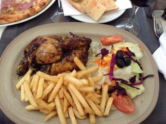 Burger Club: 1/2 цыпленка