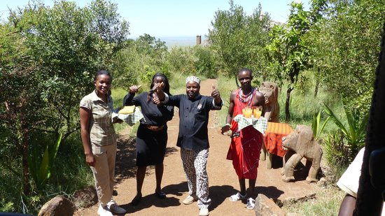 Kilima Camp : Herzliche Begrüßung