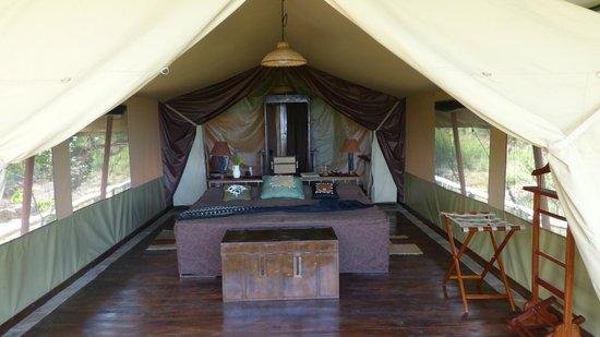 Kilima Camp: Zelt