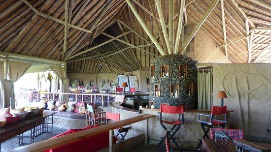 Kilima Camp: Restaurant