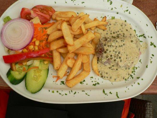 Restaurante-Pizzeria Don Camilo : мясо в перечном соусе