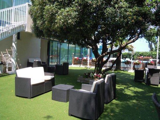 Hotel Aristeo: giardino....