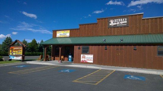Bubba's Bar-B-Que: Entrance