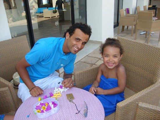 SENTIDO Djerba Beach : Activité mini-club avec Yasser