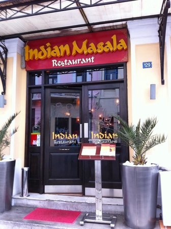 Indian Masala : Restaurant entrance