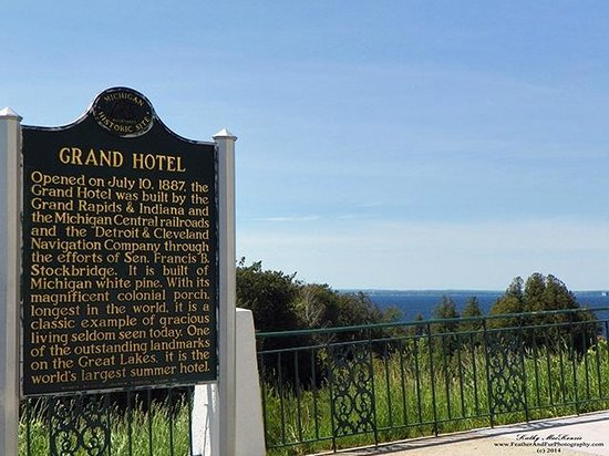 Historical Plaque about Grand Hotel