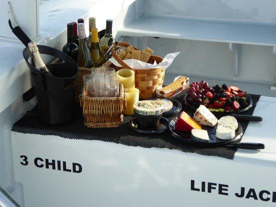 Catamaran Echo: Das tolle Buffet