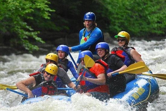 Wild Waters Outdoor Center: B&B owners out for a day!