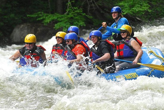 Wild Waters Outdoor Center: Rocky Acres Inn-- loves this!