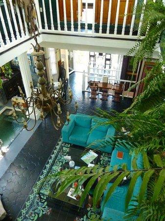 Rivera del Rio Boutique Hotel : The elegant lobby - Rivera del Rio