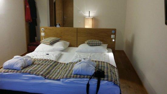 Seevilla Freiberg : السرير