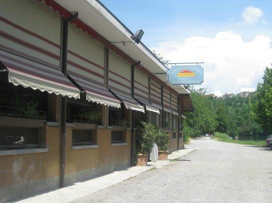 Il ristorante - Picture of La Terrazza sull\'Adda, Trezzo sull\'Adda ...