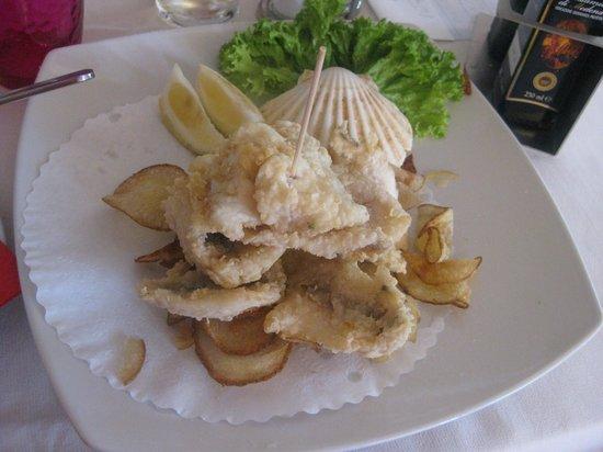 Fish e chips - Foto di La Terrazza sull\'Adda, Trezzo sull\'Adda ...