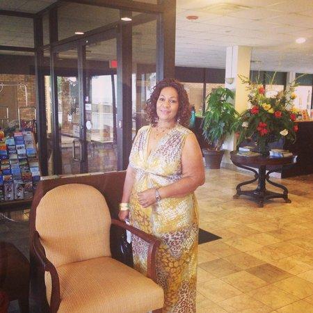 Quality Inn Biloxi Beach by the Coliseum: Hotel Lobby