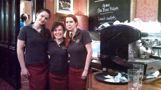 The Wellington: The great wait staff at Wellington
