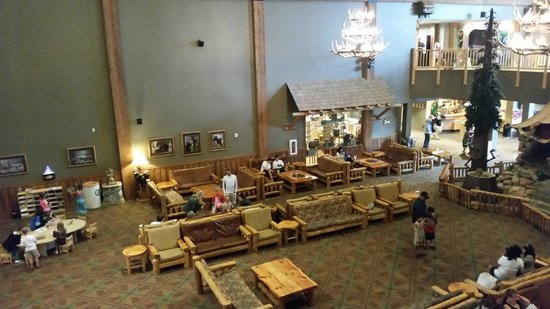 Great Wolf Lodge : Lobby Area