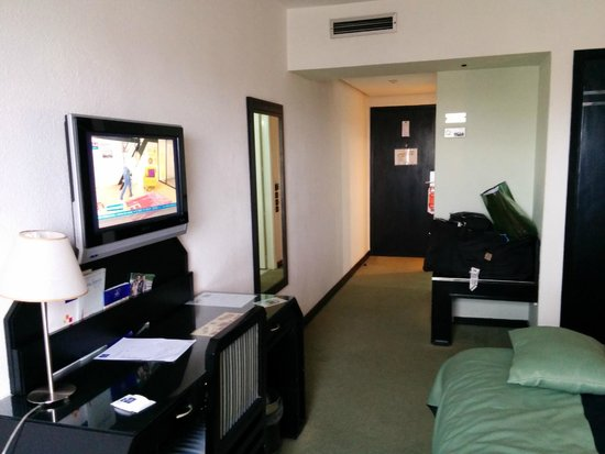 Idou Anfa Hotel : vue de la chambre