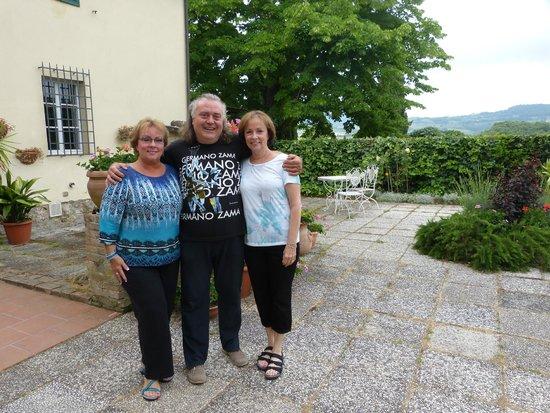 Il Vicario: Patricia and Graziella with Fulvio