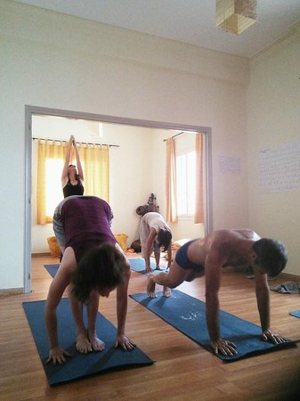 Ashtanga Yoga Crete: During practice