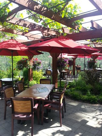 Dirty Laundry Vineyard : The patio