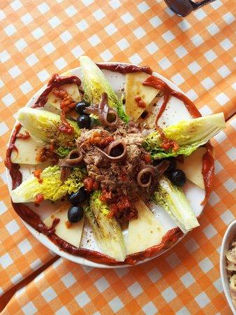 Bellota y Garnacha: Ensalada