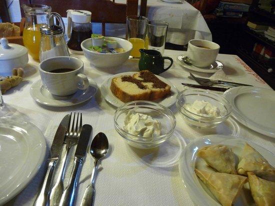 Guesthouse Sotiriou: bellissima colazione