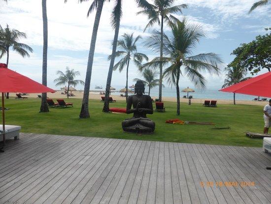 Club Med Bali: vue sur la plage