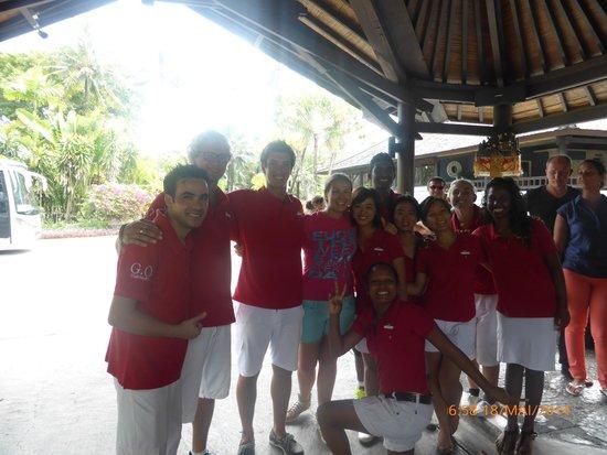 Club Med Bali: une partie des GO
