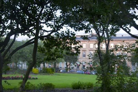 Blythswood Square: The Hotel in the Gloaming (sunset)