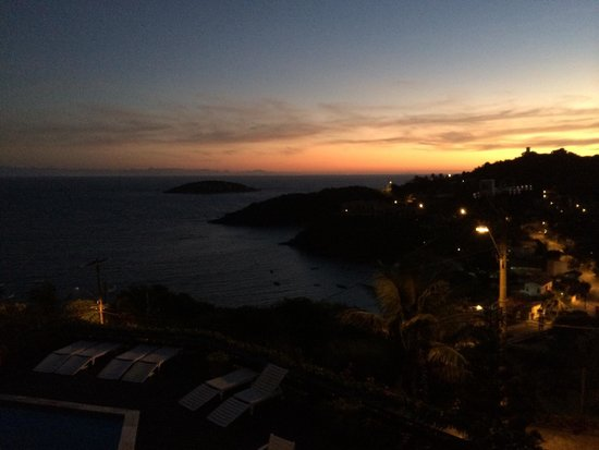 Baía do Joao Pousada: Sunrise from room #1