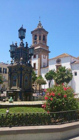 Plaza alta