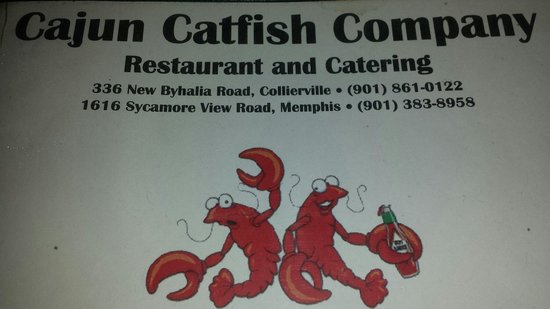 Cajun Catfish Company Memphis Walnut Grove Shelby Farms Pd Menu Prices Restaurant Reviews Tripadvisor