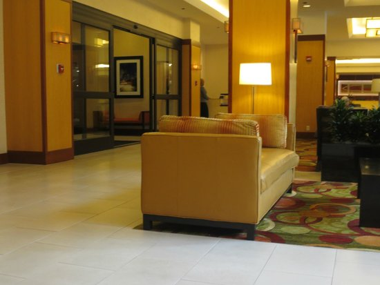 Houston Marriott Medical Center/Museum District: Lobby.
