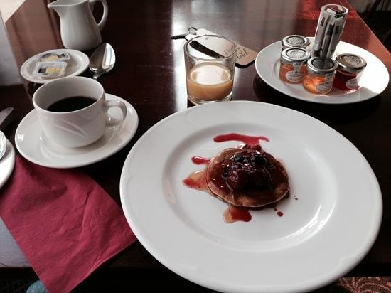 Best Western Priory Hotel: colazione con pancake