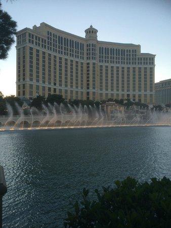 Fuentes del Bellagio: fountains