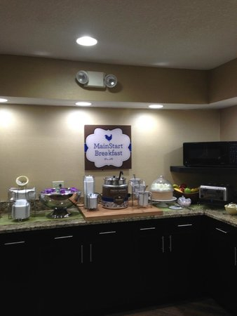MainStay Suites : New Breakfast Bar
