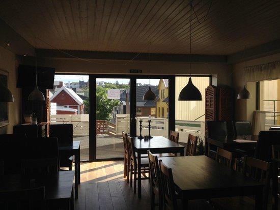 Bladypi Hostel: Utsikt från frukostrummet