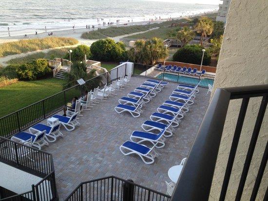 Ocean Park Resort, Oceana Resorts: porch