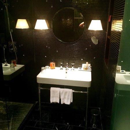 Hotel Altstadt Vienna: Sink in our room -