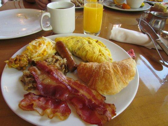 Tropicana Las Vegas - A DoubleTree by Hilton Hotel : part of my breakfast