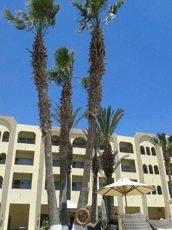 Hotel Paradis Palace: corpo centrale