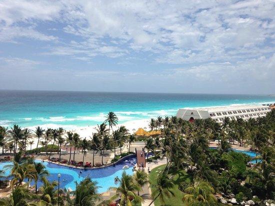 Grand Oasis Cancun : Vista da Pirâmide